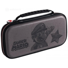 Deluxe Travel Case Super Mario Cinzenta Switch