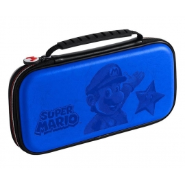 Deluxe Travel Case Super Mario Azul Switch