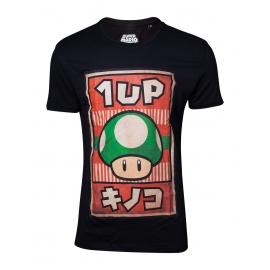 T-shirt Nintendo Propaganda Poster 1-Up