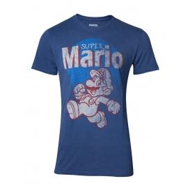 T-shirt Nintendo Vintage Super Mario Running