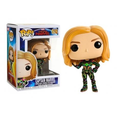 POP! Marvel: Captain Marvel In Neon Suit 516