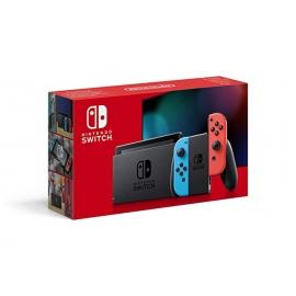Consola Nintendo Switch Azul Néon/Vermelho Néon (Novo Modelo)