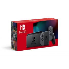 Consola Nintendo Switch Cinzenta (Novo Modelo)