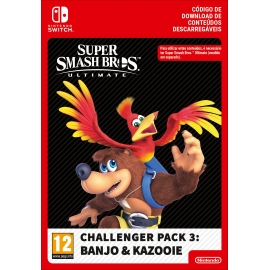 Super Smash Bros. Ultimate: Challenger Pack 3: Banjo & Kazooie (DLC) - Switch (Nintendo Digital)