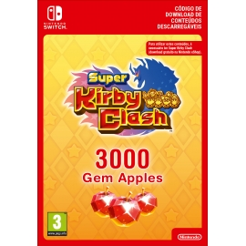 Super Kirby Clash - 3000 Gem Apples - Switch (Nintendo Digital)