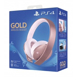 Headset Wireless Gold - Rose Gold Edition PS4