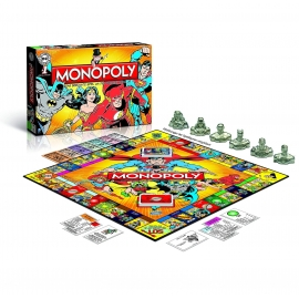 Monopoly DC Comics Retro Edition