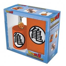 Pack Dragon Ball - Caneca + Porta-chaves + Caderno
