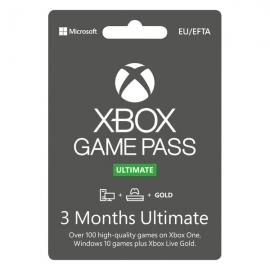 Cartão Microsoft Xbox - Game Pass Ultimate 90 dias (3 Meses) - (Envio por Email)
