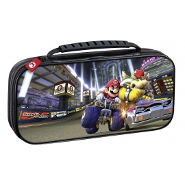 Deluxe Travel Case Mario Kart Bowser Switch