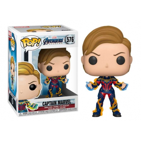 POP! Bobble-Head Marvel: Avengers Captain Marvel 576