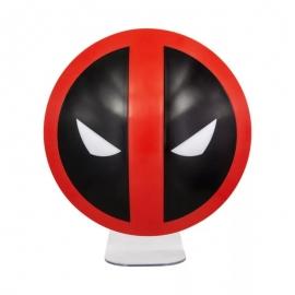 Candeeiro 3D Deadpool Logo