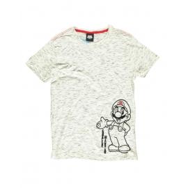 T-Shirt Nintendo - Super Mario Space Dye