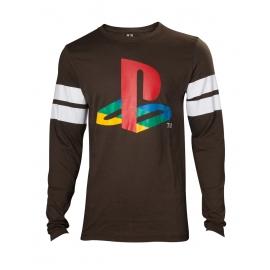 Camisola Playstation - Logo Striped Army