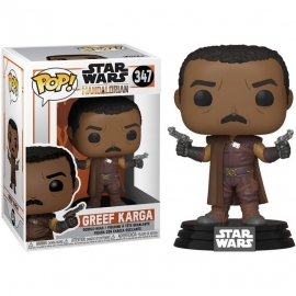 POP! Bobble-Head: Star Wars: The Mandalorian - Greef Karga 347