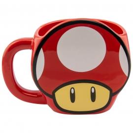 Caneca Super Mario - Super Mushroom