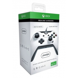 Comando PDP Xbox One Deluxe Wired Controller - White