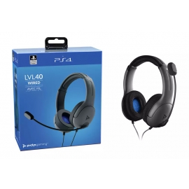 Headset PDP Gaming LVL40 Wired - Grey
