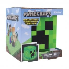 Candeeiro Minecraft: Creeper