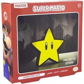 Candeeiro Projector 3D Super Mario: Super Star