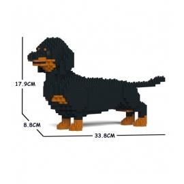 Jekca - Dogs (Dachshund Black 02S-M01) 660x