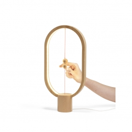 DesignNest - Heng Balance Lamp Ellipse (light wood)