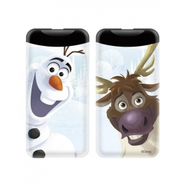 ERT - Power Bank 2xSided 6000 mAh Frozen (olaf&sven)