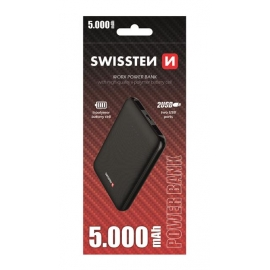 Swissten - Workx Powerbank  5000 mAh