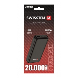Swissten - Workx Powerbank 20000 mAh