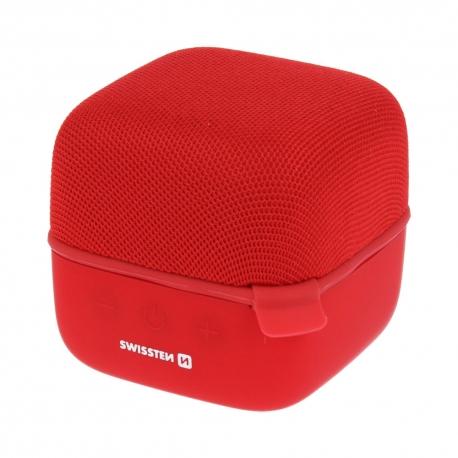 Swissten - Music Cube Bluetooth Speaker (red)