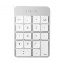 Satechi - Slim Wireless Rechargeable Keypad (silver)