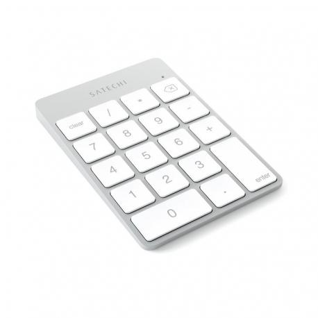 Satechi - Slim Wireless Rechargeable Keypad (silver)