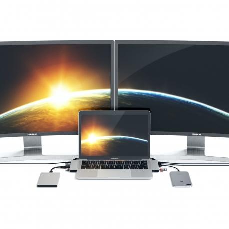 Satechi - Type-C Pro Hub Adpt HDMI 4K (space grey)