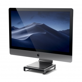 Satechi - Type-C Alum. Monitor Stand Hub for iMac (sp. grey)