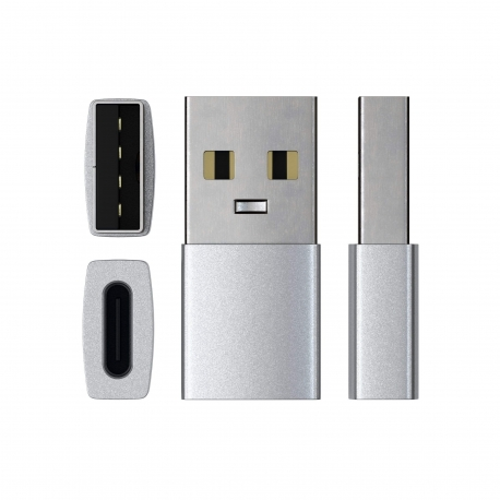 Satechi - Type-A to Type-C adapter (silver)