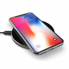 Satechi - Aluminum Wireless Charger (space grey)