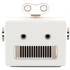 qushini - Bluetooth Robot Speaker (white)