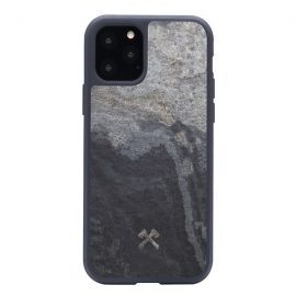 Woodcessories - Bumper Case Stone iPhone 11 Pro Max (grey)