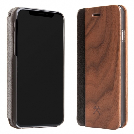 Woodcessories - EcoFlip iPhone XS Max (walnut)
