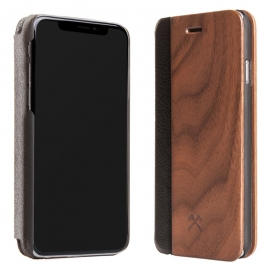 Woodcessories - EcoFlip iPhone XR (walnut)