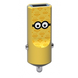 Tribe - Buddy Car Charger 2.4A Minions (tom)