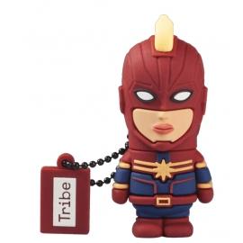 Tribe - Pen Drive Marvel 16GB Captain Marvel