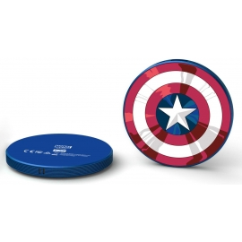 Tribe - Stripe Power Bank 4000 mAh Marvel (Capt America)