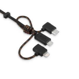 Moshi - 3-in-1 Universal Charging Cable (black - 1m)