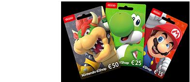 Compra já o teu Cartão Nintendo Digital